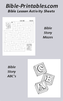 Bible Lesson Activitiy Sheets