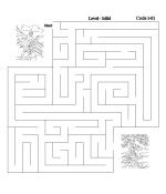 Top-to-Bottom Bible Lesson Activity Mazes
