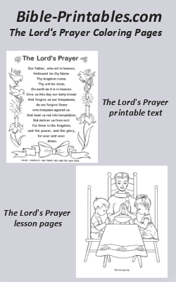 photograph regarding The Lord's Prayer Coloring Pages Printable identified as The Lords Prayer Coloring Web pages Bible-Printables