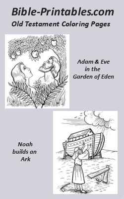 the old testament coloring pages - photo#5