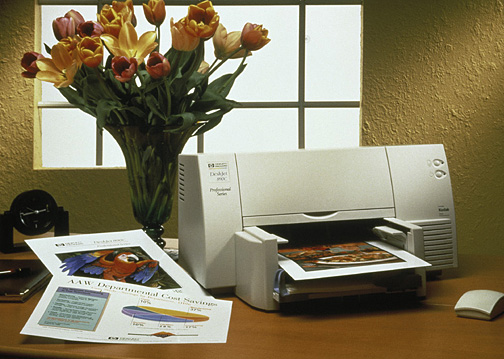 Your home printer MAY look Something like this